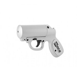 Mace Brand 80403  Self Defense Police Strength Pepper Spray Gun with Strobe LED