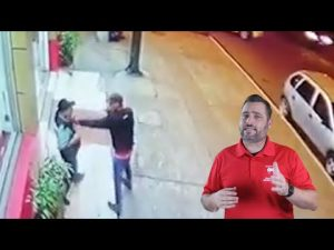 Ecuadorian Security Guard Loses His Gun And More