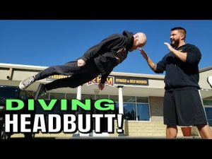 Surprise Headbutts for Self Defense from the Clinch and Long Range