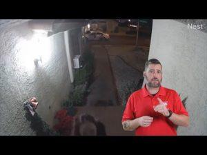 Las Vegas Doorcam Catches Domestic Abuse