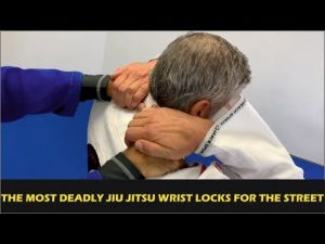 "The Most Deadly Jiu Jitsu Wrist Locks For The Street (Self Defense) by Márcio ""Macarrão"" Stambowsky"