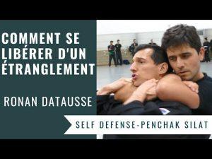 SE LIBERER D'UN ETRANGLEMENT ARRIERE (PENCHAK SILAT – SELF DEFENSE)