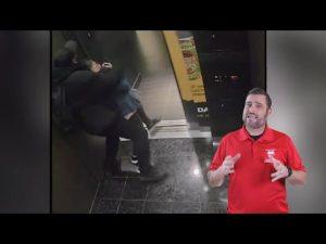 Elevator Bandit Steals Elderly Woman's Purse