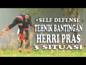 Kecepatan Herri Pras Self Defense BANTINGAN [ Tehnik Battle Combat ]