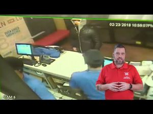 Pizza Store Workers Chase Robber Down