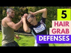 5 Hair Grab Defenses – Women's Self-defense Techniques