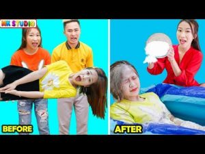 9 BEST FUNNY SELF-DEFENSE PRANKS ! Safety Hacks & Self Defense By MK Studio