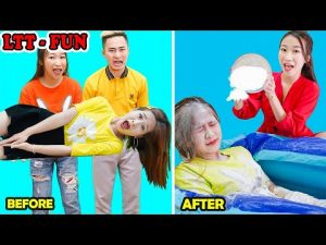 BEST FUNNY SELF-DEFENSE PRANKS ! Prank Wars ! Safety Hacks & Self Defense By Girl LTT-FUN