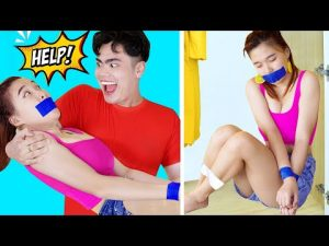 FUNNY SELF-DEFENSE TECHNIQUES / Funny Safety Hacks & Self Defense At Home & Funny Prank Wars