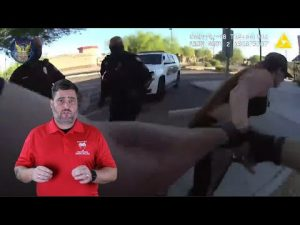 Arizona Officers Respond To Call Of A Gunshot