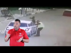 Robbery Victim Uses Vehicle To Get Even