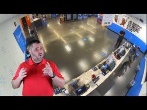 Walmart Robber Scores A Deal On Handcuffs