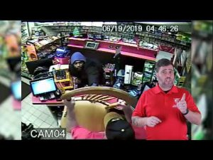 Store Clerk Uses A Chair To Fend Off Robber