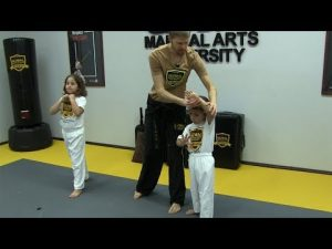 Martial Arts for Kids – First Self Defense Lesson (Krav Maga)