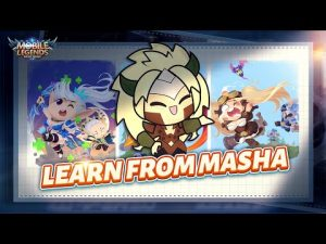 Learn Self-Defense From Masha | Dragon Tamer Series New Skin | Mobile Legends: Bang Bang!