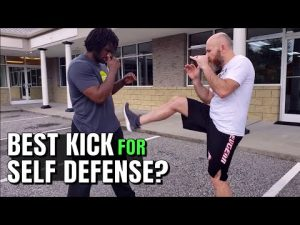 Front Kicks Are The Best Kick for Self Defense
