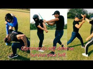 Commando self-defense on Attack