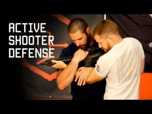 Active Shooter Defense | Unarmed Self Defense Technique | Tactical Rifleman